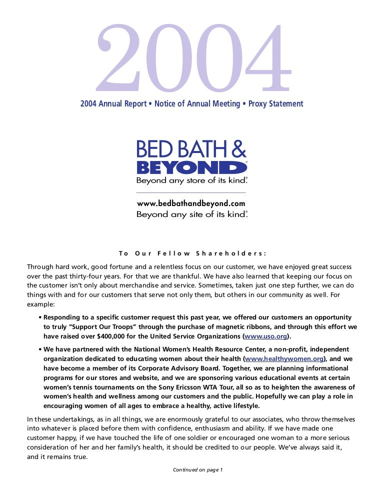 Bed Bath And Beyond Shortcode