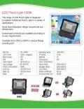 120W LED Flood  Light Specification new