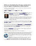 HP Service Virtualization Eases Developer and Operations Lifecycle Support of Applications at Shunra Software