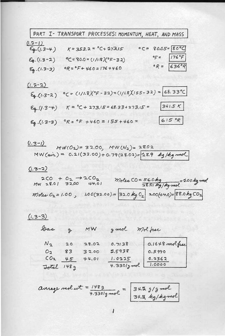122357866 transport processes and separation process principles solut