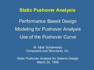 1223989 static pushover analysis