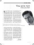 """You are not what you share"" - Column for MediaMarketing (Belgium/Dutch)"