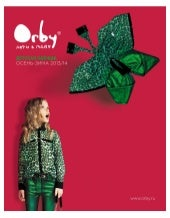 Look book Orby Fall Winter 2013/14 | Fashion kids wear from Russia