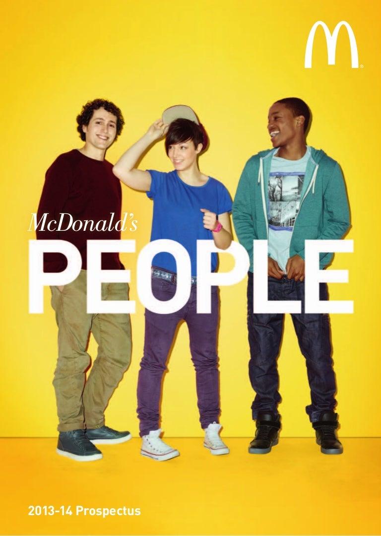 mcdonald s people prospectus