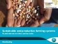 Sustainable and productive farming systems: Shared interests in Africa and Australia
