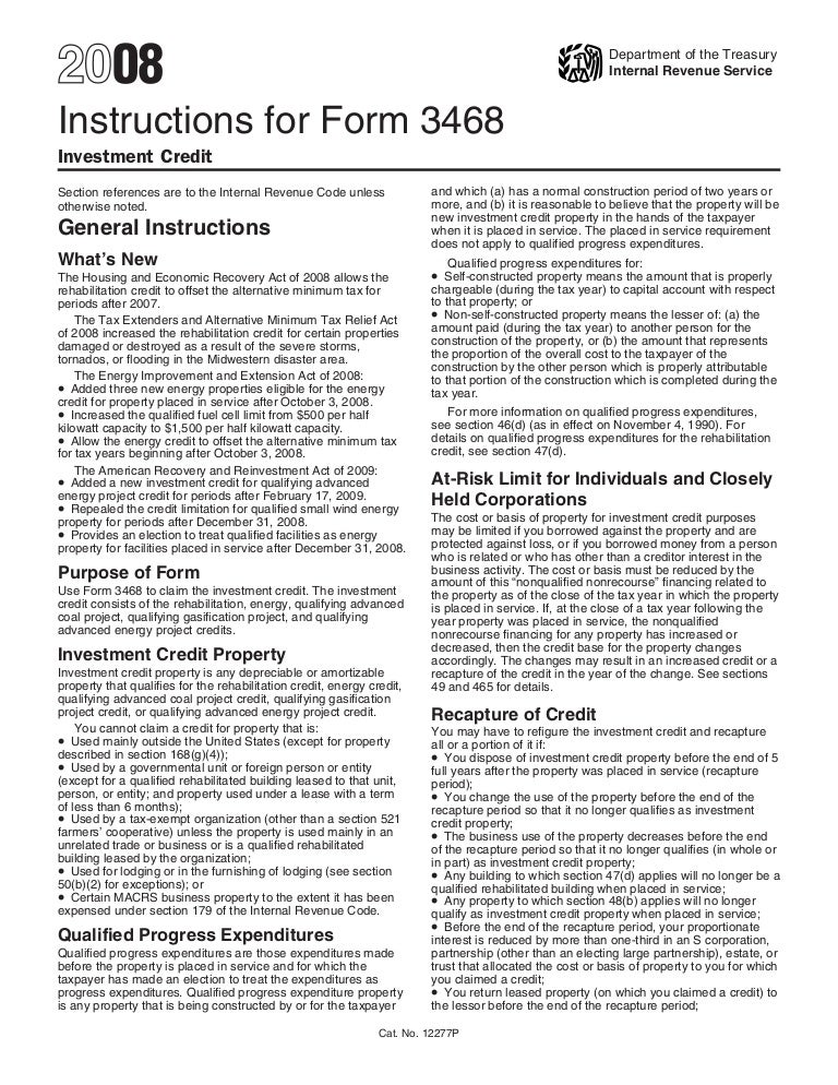 Instructions for form 3468 investment credit new century financial investments review and herald