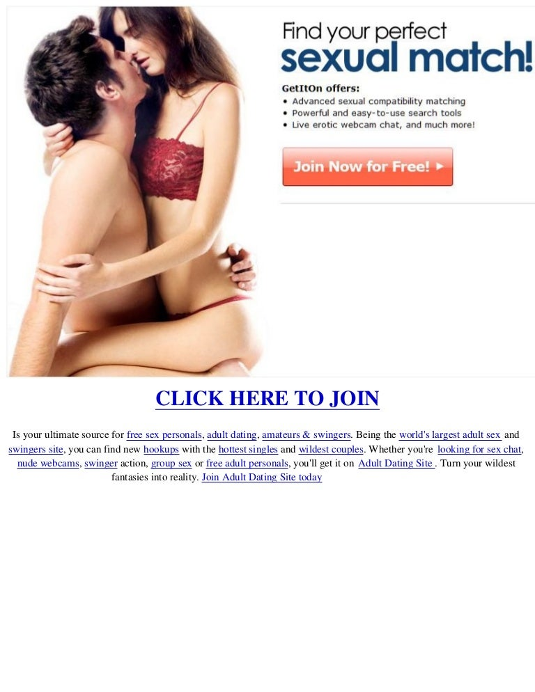 Adult personals free