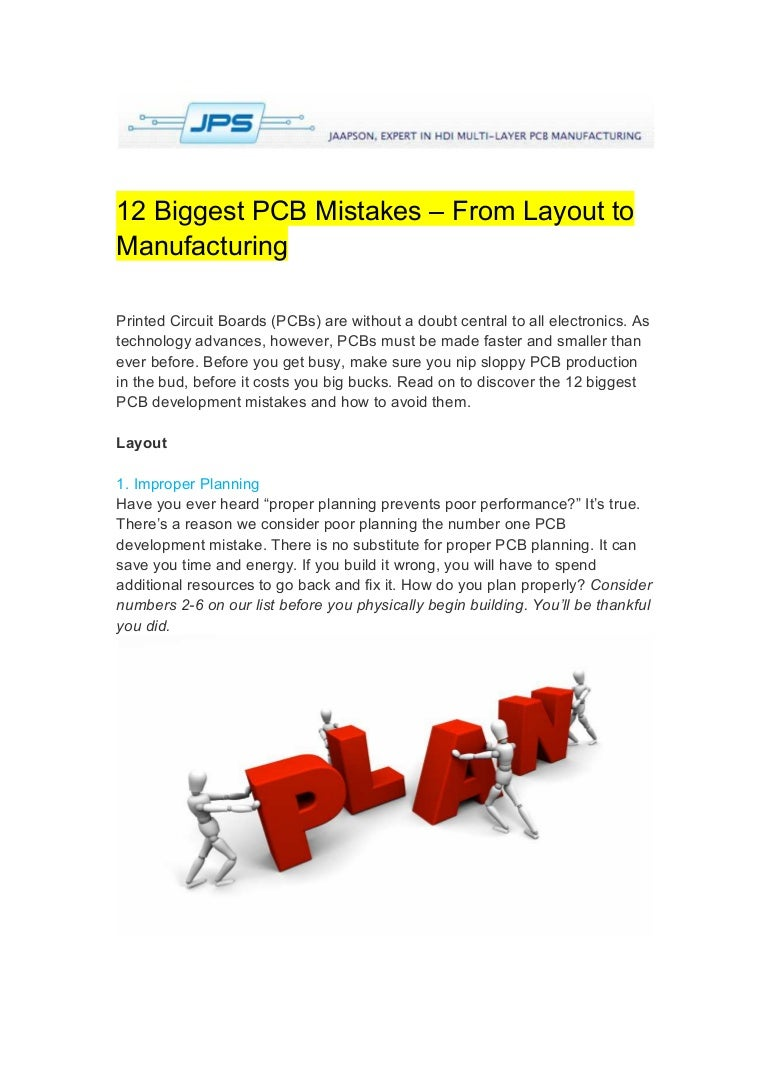 12 Biggest Pcb Mistakes From Layout To Manufacturing Layerprintedcircuitboardpcbproductionjpg