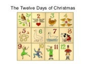 12daysof christmas game