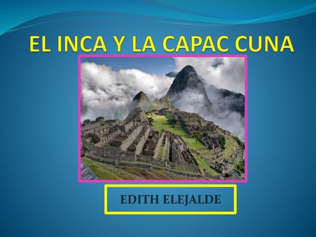 DINASTÍAS INCAICA CAPAC CUNA