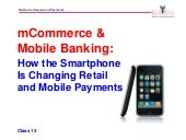 mCommerce and Mobile Banking_Michael Hanley