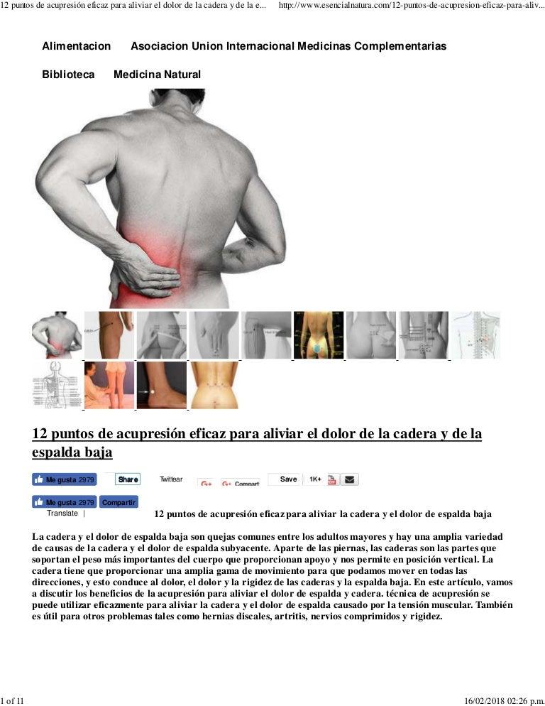 dolor en ambos lados de la espalda baja