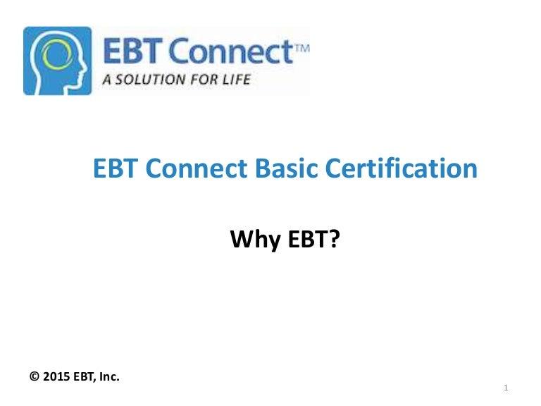 1 2 Why Ebt