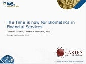The time is now for biometrics in financial services