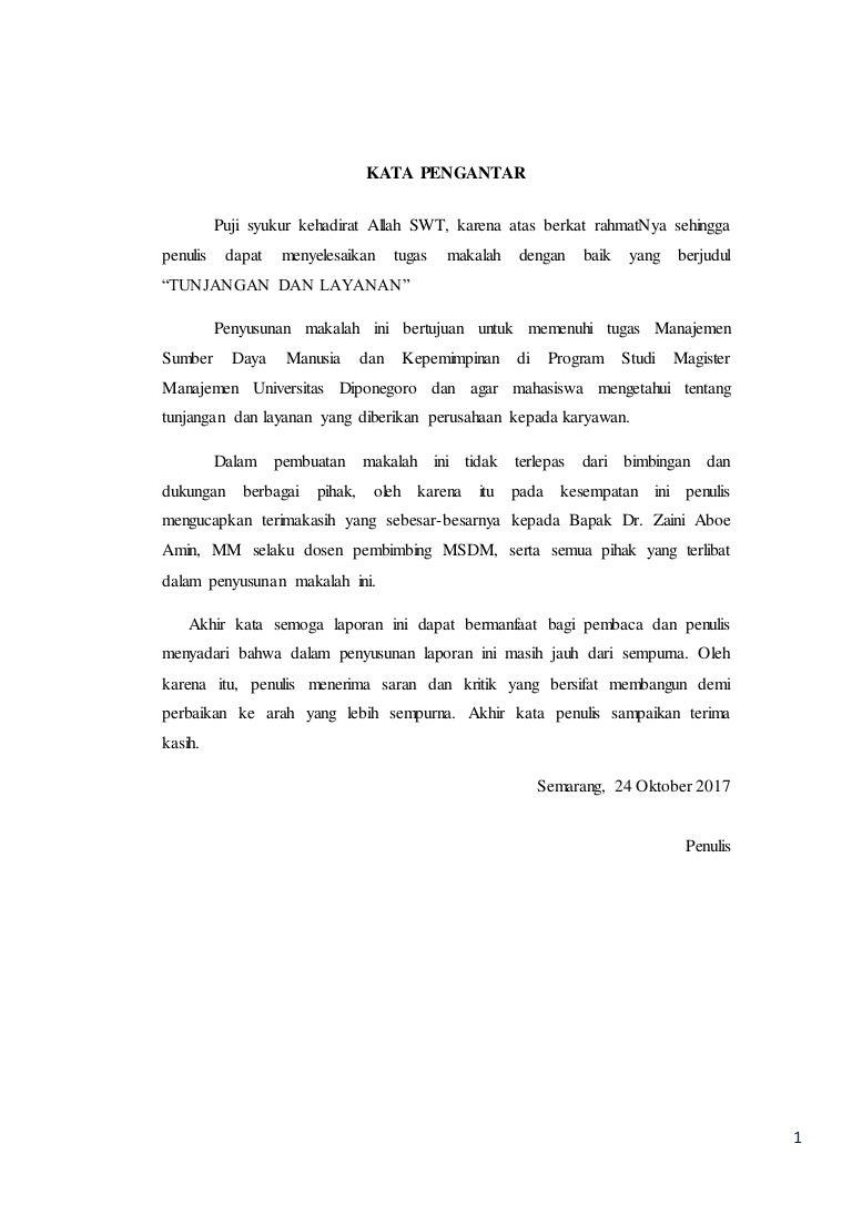 Contoh Makalah Manajemen Sdm Pdf Awan Danny Media