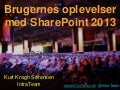 SharePoint 2013 - IT Forum