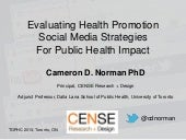 Evaluating Health Promotion Strategies for Public Health Impact