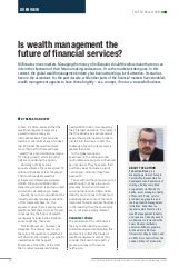 Is wealth management the future of financial services?