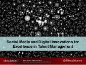 Social and Digital Innovations in Talent Management