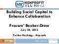 Building Social Capital to Enhance Collaboration