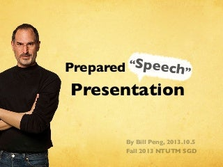 Prepared Speech Presentation