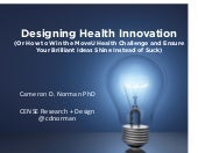 Designing Health Innovation