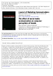 the perception of omani e consumers on Review of middle eastern and omani public transport  influenced by consumer perceptions of quality, the marketing mix, the brand name, and the image of the service provider andreassen (1995) associated some latent  public transportation services in oman a a oman.
