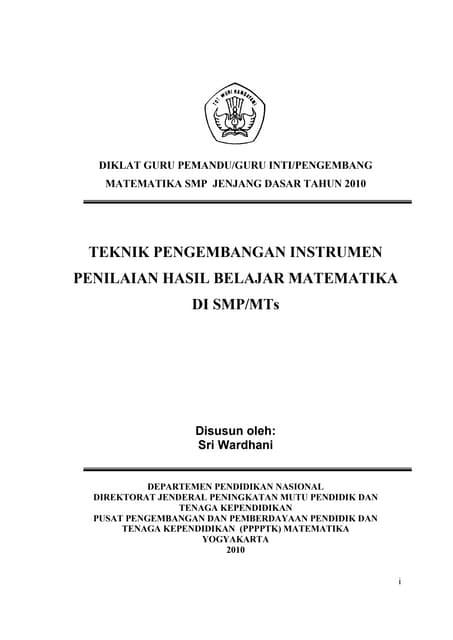 135928077 instrumen-penilaian-mat-smp