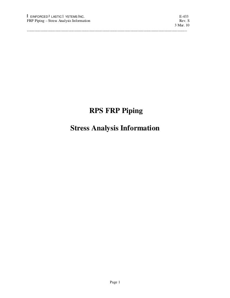 136894665 rps-frp-piping-stress-analysis