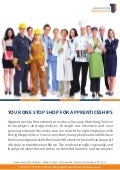 Apprenticeship Recruitment Leaflet