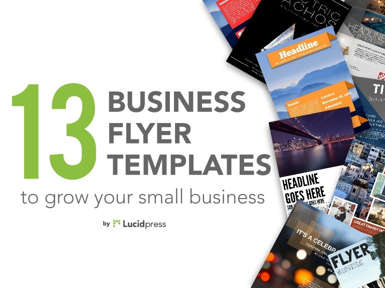 13 best business flyers to grow your small business cheaphphosting Images