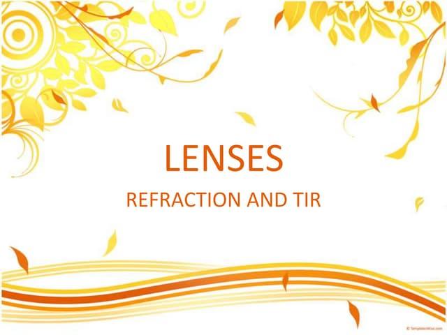 13 lenses