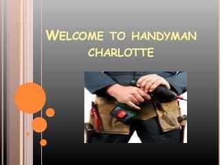 Home Repair Charlotte