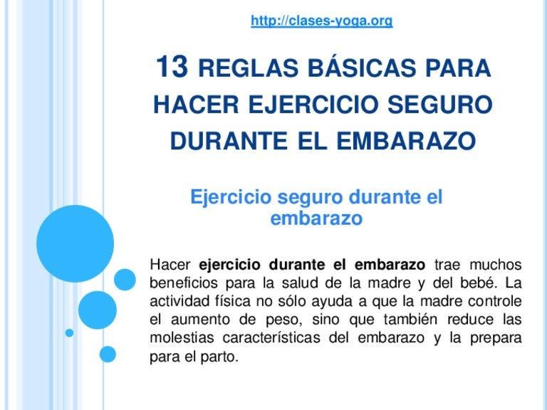 e8a5ad6e0 13 reglas básicas para hacer ejercicio seguro durante