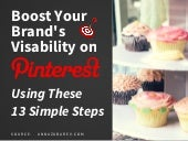 Pinterest Strategy On How To Boost Your Brand's Visibility