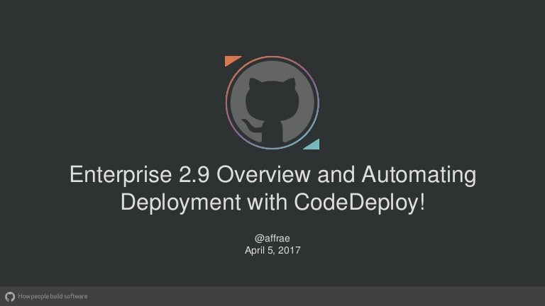Effective Collaboration & Delivery with GitHub and AWS Code