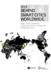 Smart cities report UAM COIT 2014