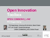 FH Hagenberg / OPEN COMMONS_LINZ: Open Innovation Toolbox