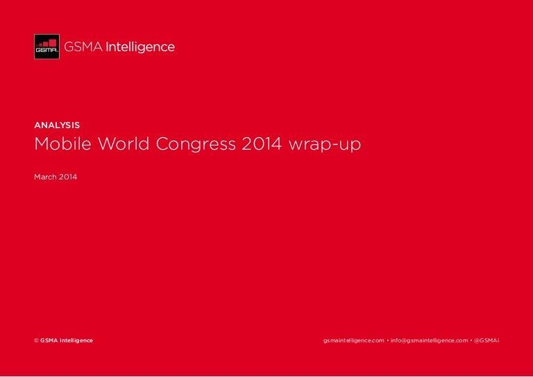 Mobile World Congress 2014 wrap-up