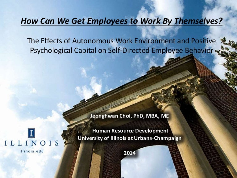 Research on how can we get employees to work by themselves toneelgroepblik Choice Image