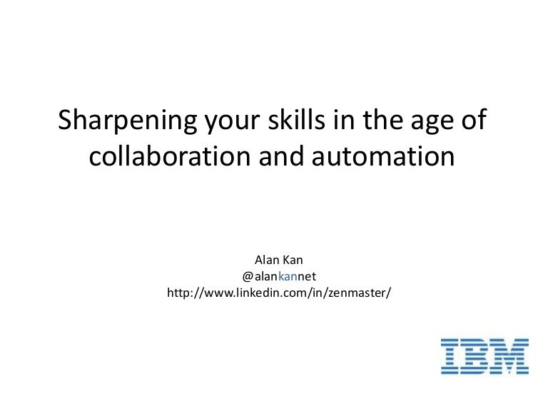 Sharpening your test skills in the age of collaboration and