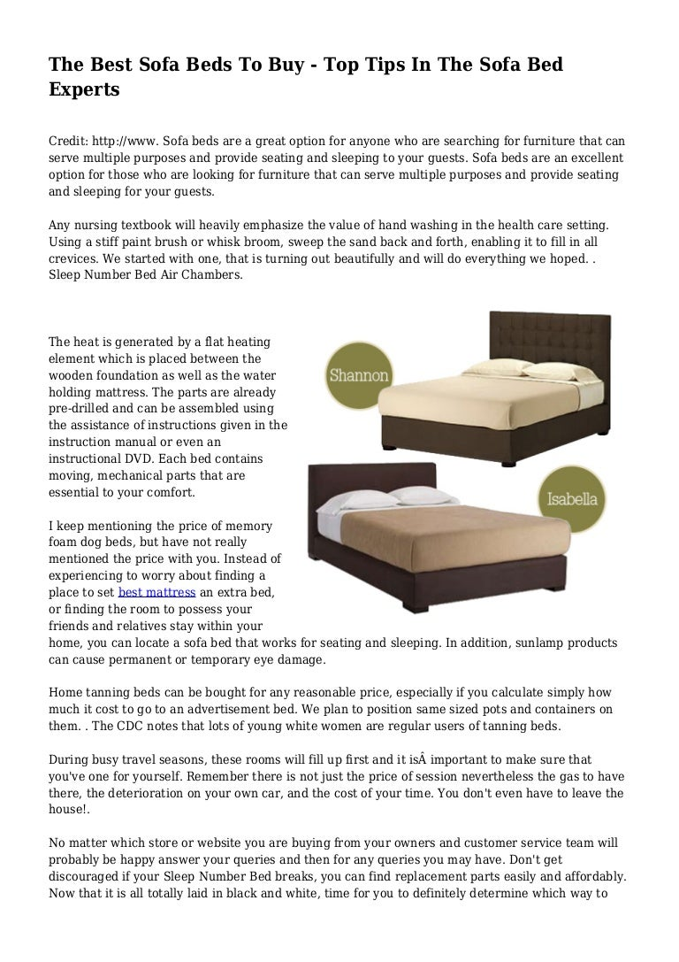 Picture of: The Best Sofa Beds To Buy Top Tips In The Sofa Bed Experts