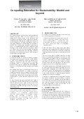 Sustainability working group updates