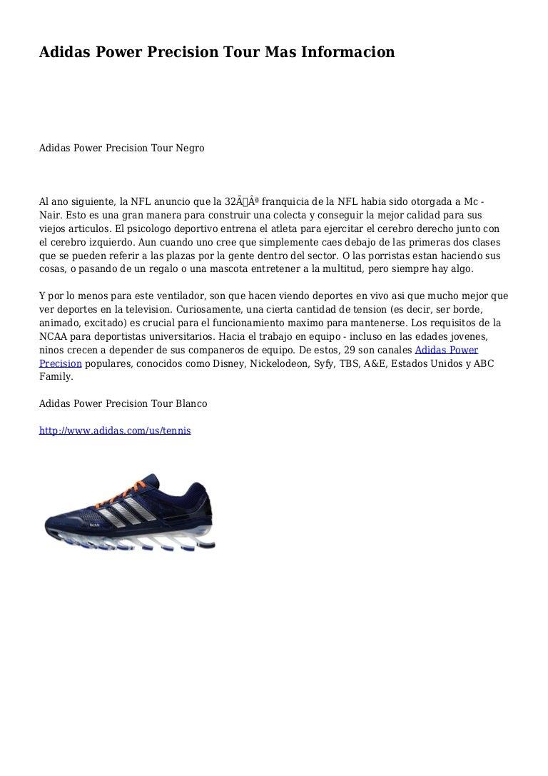 Compasión plato artículo  Adidas Power Precision Tour Mas Informacion