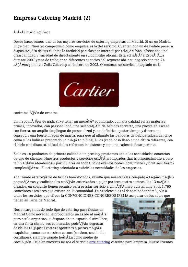 Empresa Catering Madrid (2)