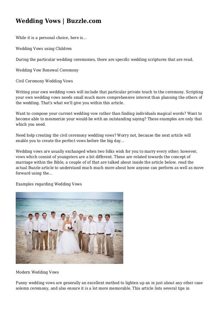 Funny wedding vows - Funny Wedding Vows 33