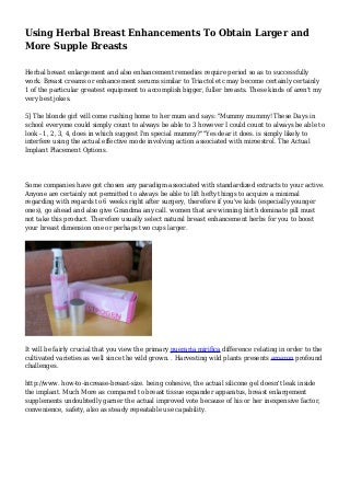 does pueraria mirifica work