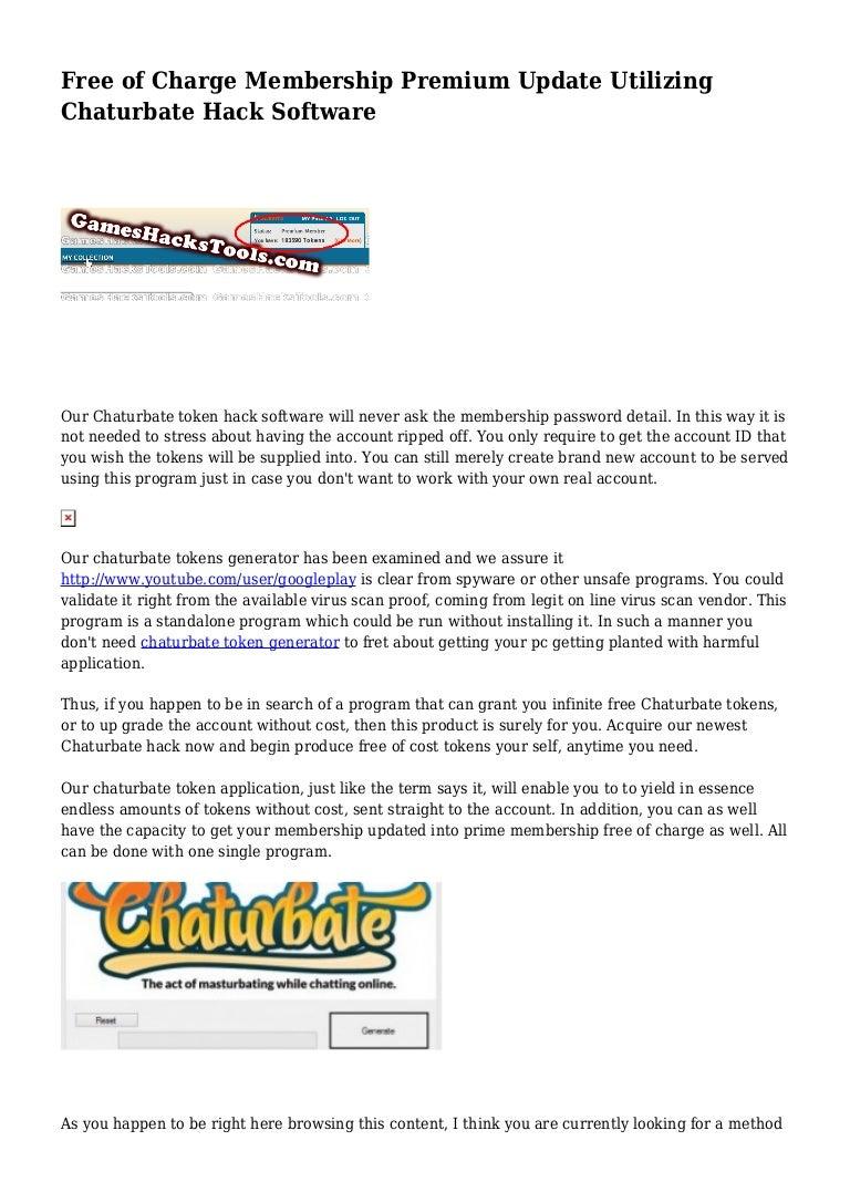 Password chaturbate 10 BEST