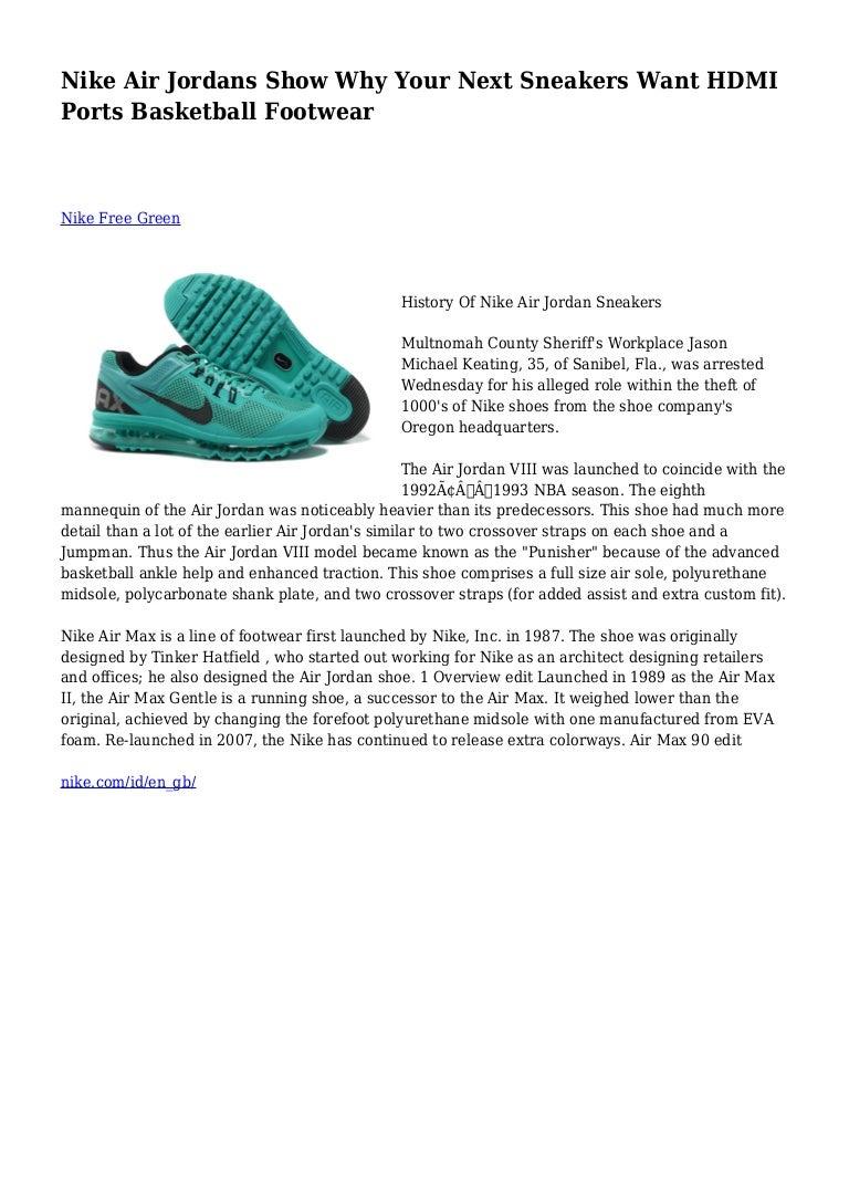 4c5e7e3e Nike Air Jordans Show Why Your Next Sneakers Want HDMI Ports Basketba…