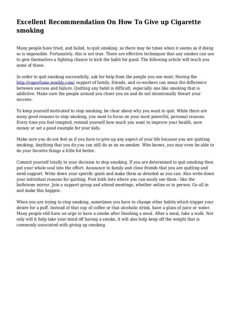 persuasive essay stop smoking